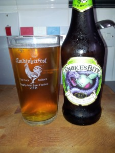 Snake's Bite beer from the Wychwood brewery