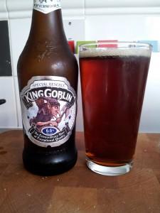 King Goblin Ale from the Wychwood brewery