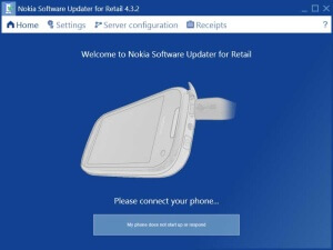 Nokia Software Updater for Retail